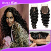 Cambodian Virgin Remy Hair Deep Wave Silk Top Lace Closure (LC-023)