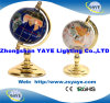 Yaye Sapphire Blue / White Colour Gemstone Globe / World Globe with 150mm/220mm/330mm