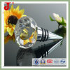 Round Shape Crystal Glass Bottle Stopper