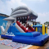 Dolphin Cartoon Inflatable Obstacle Slide for Sale