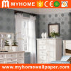 2016 Pure Paper Silver Wall Paper for Interior Decorative