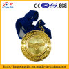 High Polished Mirror Proof Metal Medal