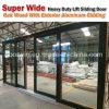 Heavy Duty Lift and Sliding Wood Aluminum Door for Missouri USA Client