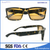 New Stylish OEM Plastic Injection Eyeglasses with Black Snowflak Frame