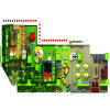Customized Kids Indoor Plastic Slides Playground
