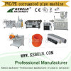 PVC Single-Wall Corrugated Pipe Extrusion Line