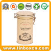 Metal Food Packaging Box Traditional Biscuits Tin with Airtight Lid