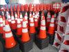 "28"" Orange PVC Traffic Cone with Reflective Collar"
