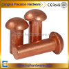 OEM Brass / Red Copper Mushroom Round Head Solid Rivets