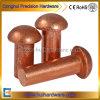 OEM Brass / Red Copper Mushroom Round Head Solid Rivets