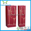 Logo Hot Stamping Custom Size Wine Paper Bag