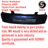 Custom High Quality Plastic Injection Auto Bumper