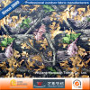 900d Oxford PVC/PU Camouflage Printing Military Polyester Fabric