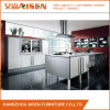 Linear White Lacquer Kitchen Cabinet for Home Furniture