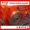 Gearbox for single screw barrel