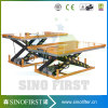 Low Profile Fixed Roller Conveyor Scissor Lift Platform Lifter