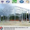 Prefab Light Portal Frame Steel Warehouse with Canopy