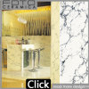 Super White with Black Lines Polished Tiles