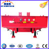 3 Axle Exposed Tire Special Lowbed/Low Deck/ Low Loader Cargo Semi Truck Trailer for Crane or Vehicle for Sale