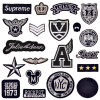 Embroidered Patches for Men, Masculine Embroidery Backpack Badges