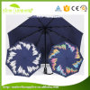 Fashion Automatic Open Windproof Black Color Changing Umbrella