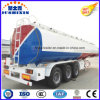 3 Axis 42000 Liters Carbon Steel Fuel/Oil Tanker with 1 Silo