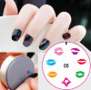 DIY Portable Nail Art Image Stamp Plates Polish Stamping Manicure Silicone Plate Tools New