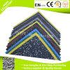 Square Shape Durable Gym Rubber Flooring Tiles