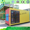 Flat Roof Economical Prefabricated House for Dormitory/Worker Camp/Office and School