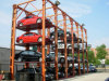 4 Post Hydraulic Parking Lift Car Stacker for Vehicle