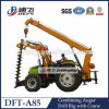 Power  Pole Erecting Machine with 8 Tons Lifting Capacity