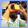 Head Mount Google One Piece Cardboard 3D Glasses Vr Toolkit Without Nfc Tag