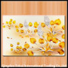 Rectangle Vegetables Tempered Glass Cutting Board with Decal Pattern
