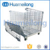 Stackable Steel Warehouse Logistic Metal Cages