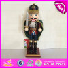 2015 Newest Kids Toy Wooden Christmas Toy, Popular Wooden Children Toy Christmas, Wooden Christmas Soldier Nutcracker Toy W02A064