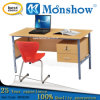 Morden Teachers Desk with Cabinet and Plastic Chair for School Furniture