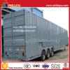13.9m 9ton Tri-Axle Enclosed Car Transport Truck Trailer