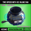 Round Duct Fan/Circular inline fan with Iec Connector