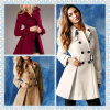 2013 Winter Trench Woolen Coat for Lady Hsc013