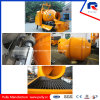 Mobile Trailer Concrete Pump with Drum Mixer