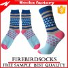 Wholesale Happy Colorful Young Girl Sock Custom