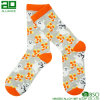 Halloween Ghost Pattern Wholesale Crew Dress Socks