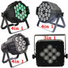 Guangzhou Hot Sale 7PCS 4 In1 10W RGBW LED Wall Washer PAR Light