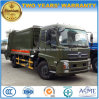 180HP Garbage Transport Truck 10 T Compressed Garbage Truck