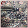 Peacock Pattern Print 100% Silk Satin Fabric