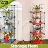 Utility Multifunction Steel Units Wire Storage Shelves for Flowers