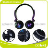 Fashionable and Colorful Bluetooth Headset with LED Light