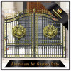 Decorative Color Power Coated Metal Cast Aluminum Garden Gate