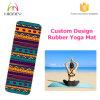 Full Color Printing Rubbr Yoga Mat for Pilates, Hot Yoga