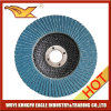 125X22mm Zirconia Alumina Oxide Flap Abrasive Discs (fibre glass backing)
